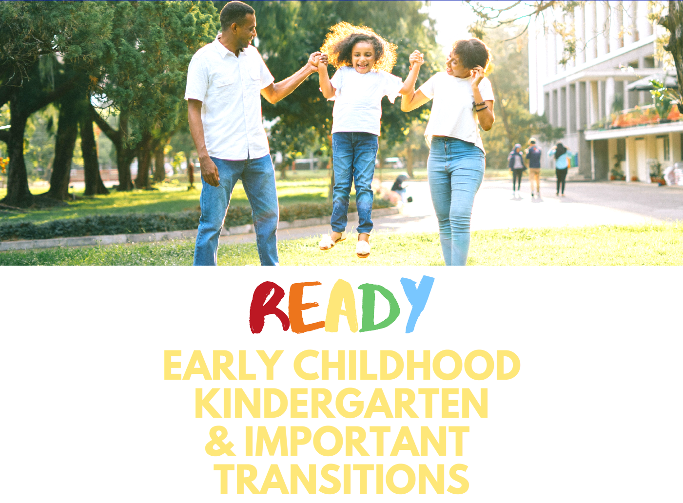 Kindergarden Transition Planning Summit
